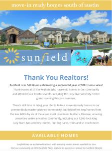 500+ Home Sales – Thank You, Realtors®!