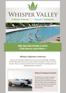 ATX Homes from the Mid $200s! Phase 2 Pre-Selling