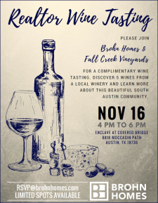 Agent Wine Tasting with Fall Creek Vineyards!