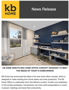 Announcing the Debut of Our New Home Office Concept