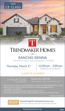 CE Class in Rancho Sienna & Enjoy Lunch! RSVP Here
