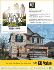 Celebrate New Model Homes with Food & Refreshments at La Conterra in Georgetown!