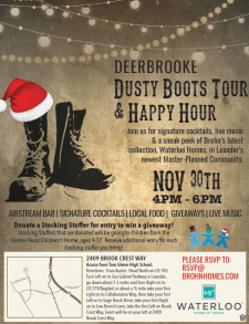 Dusty Boots Tour + Happy Hour with Live Music, Free Drinks & Prizes!