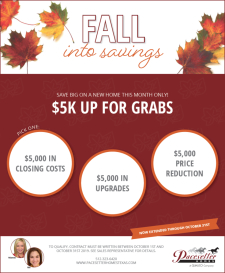 Fall into Savings - $5K Up for Grabs!