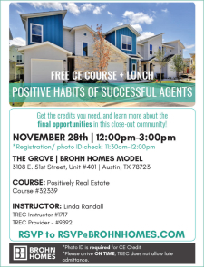 Free CE Course + Lunch in East Austin!