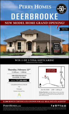 Grand Opening Event - Model Home Tour + Giveaways!