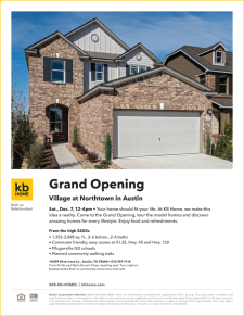 Join Us for Our Grand Opening at Village at Northtown in Austin