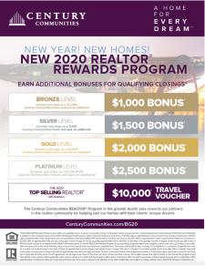 New 2020 Realtor Rewards Program!