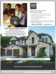 Real Estate Agent Safety Class at Forest Grove!