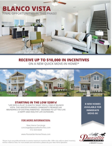 Receive Up to $10k on a New Quick Move-In Home!