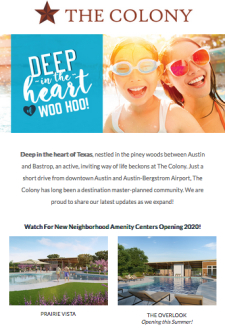 The Colony Bastrop - New Builders 🥰 from $200s 🌞🕶️
