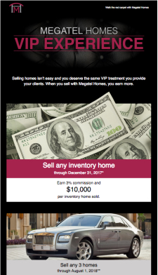 $10,000 Per Inventory Home Sold, Private Jet Travel to Aspen & More - Megatel Homes VIP Experience!