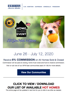 6 PERCENT COMMISSION - All You need is home and these hot deals!