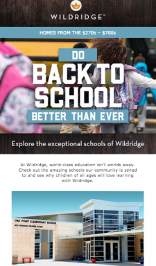 At Wildridge, world-class education is within reach.