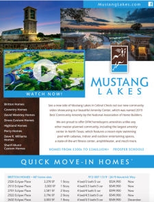 🥇Best Amenity Center in the Nation: Mustang Lakes in Celina
