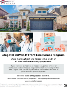 COVID-19 Front Line Heroes Program!