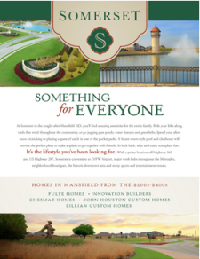 Check it out! 🏡 Move-In Ready Homes from the $200s at Somerset in Mansfield