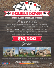 Double Down & Enter to Win a $10,000 Jackpot!*