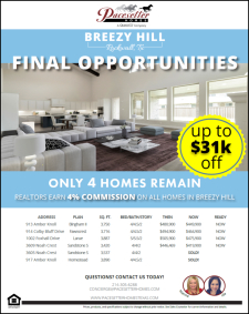 Final Opportunities in Breezy Hill!