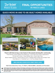 Final Opportunities in Frisco Lakes