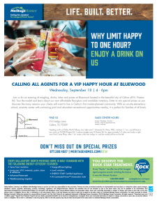 Join Us: Wine Down Wednesday at Bluewood