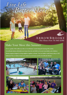 Live Life Better in ArrowBrooke! New Homes North of Frisco