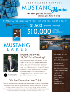 Mustang Mania $1,500 Winner & Available Inventory