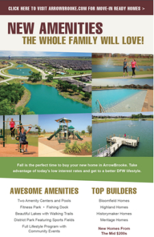 New Fitness Park, Pool & More in ArrowBrooke!