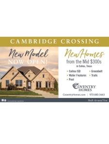 New Model Now Open in Celina's Cambridge Crossing