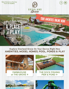 Overland Grove in Forney – Tour All of Our Amenities & Models Online