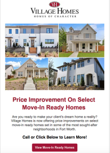 Price Improvement On Select Move-In Ready Homes!