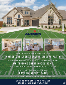 RSVP NOW for the Whitestone Crest Kickoff Party, Enjoy Gift & Prizes!