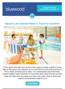 Record Low Interest Rates In Time For Summer!