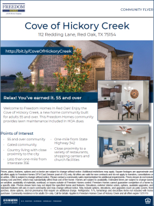 Relax! You Earned It at the Cove of Hickory Creek