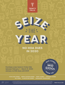 Seize The Year | No HOA dues in 2020!