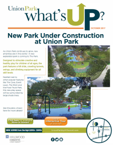 Union Park is expanding amenities!