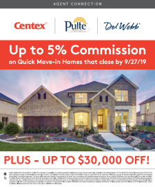 Up To 5% Commission & $30,000 Off on Quick Move-In Homes!*