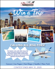 Win A Trip From Pacesetter Homes DFW!