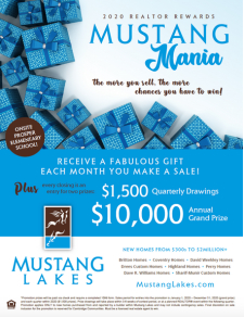 Win Big When You Sell in Mustang Lakes!