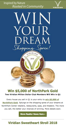 Win Your Dream Shopping Spree!