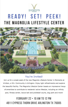 You're Invited: First Peek at Our Newest Lifestyle Center