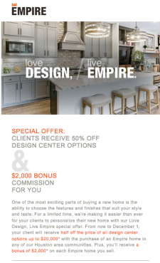 1/2 Off Design Options + 2K Bonus for You