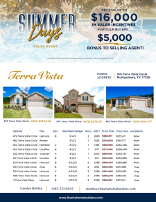 $5,000 Bonus at Terra Vista!
