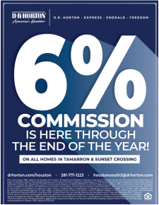 6% Commission ALL YEAR in two select communities!
