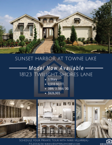 Beautiful Model Home - Sunset Harbor at Towne Lake