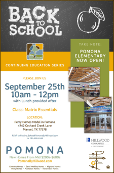 CE Class and Lunch at Pomona - September 25th
