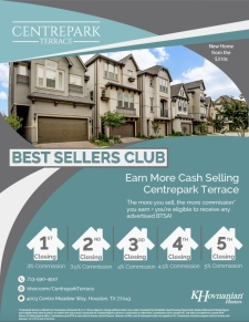 Centrepark Terrace Join our Best Sellers Club!