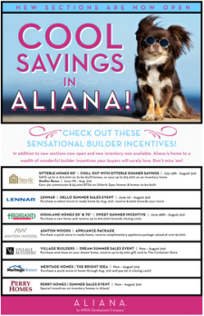 Cool Savings in Aliana