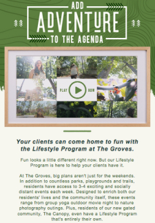 Discover 100+ yearly events at The Groves