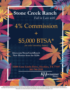 Fall in Love with 4% Commissions & BTSA*